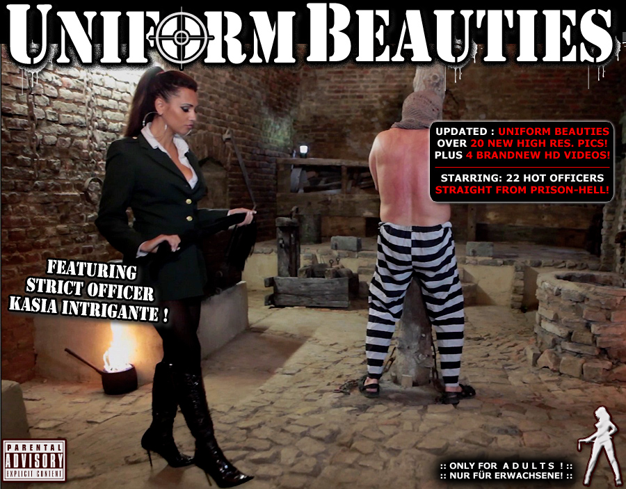 Click here to enter the Number 1 in bizarre extreme Femdom and Uniform Fetish! Uniform Beauties present exclusive Femdom Videos and Pictures with the most beautiful and cruel officers!